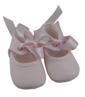 Zapatos de tela, Rosa.
