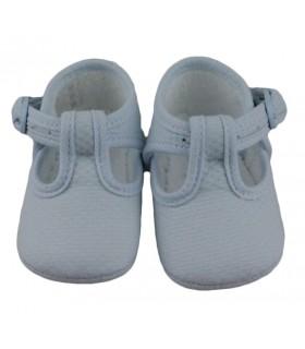 Zapatos de tela, Azul.