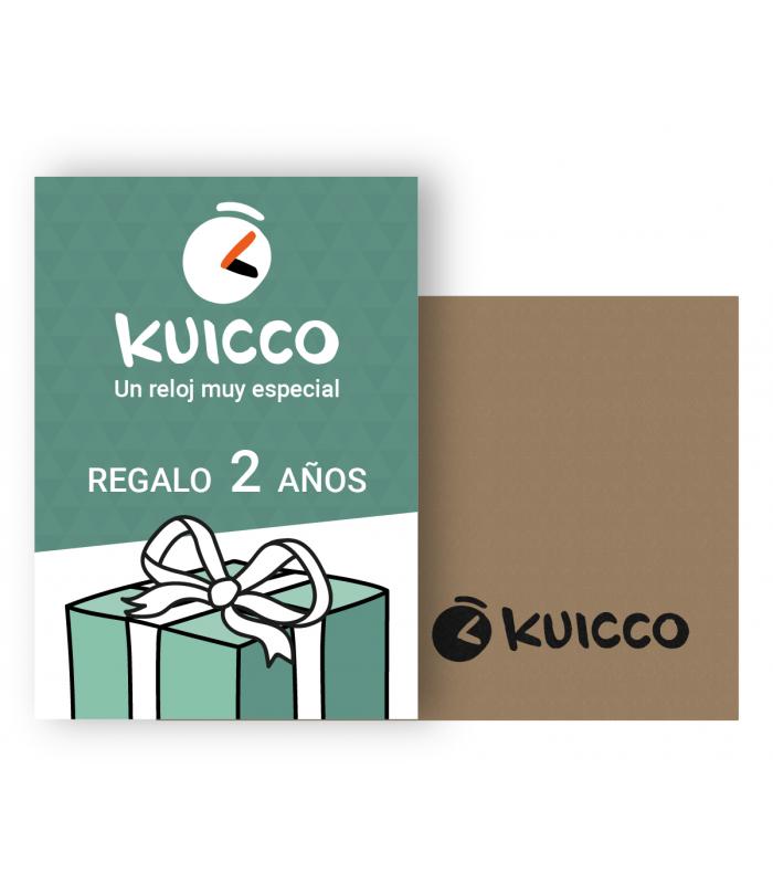 Kuicco. Suscripción regalo para 2 años.