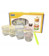 Glasslock. Baby meal set.