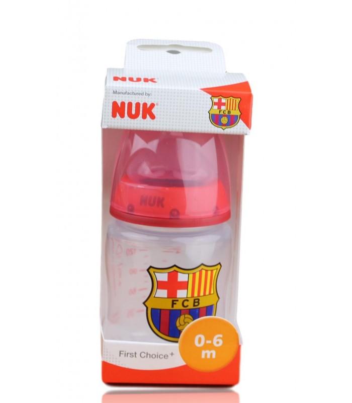 Biberón F.C. Barcelona 0-6 meses. 150 ml.