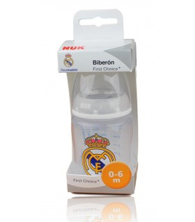 Biberón Real Madrid 0-6 meses. 150 ml.