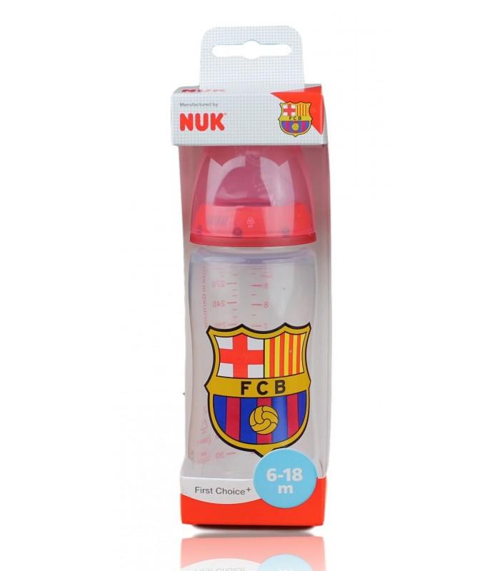 Biberón F.C. Barcelona 6-18 meses. 300 ml.