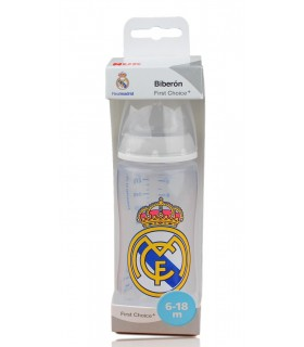 Biberón Real Madrid 6-18 meses. 300 ml.