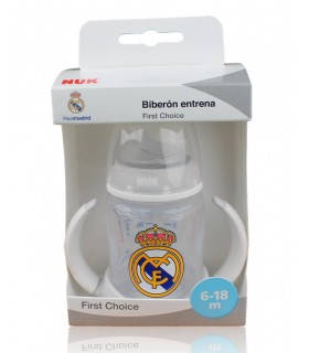 Biberón Real Madrid Entrena 6-18 meses. 150 ml.