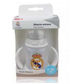 Biberón Real Madrid Entrena 6-18 meses. 150 ml.