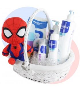 Canastilla Spiderman