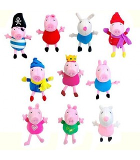 Peluche Peppa Pig, 20 cm.