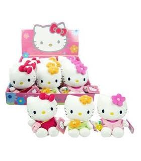 Peluche Hello Kitty, 15 cm.