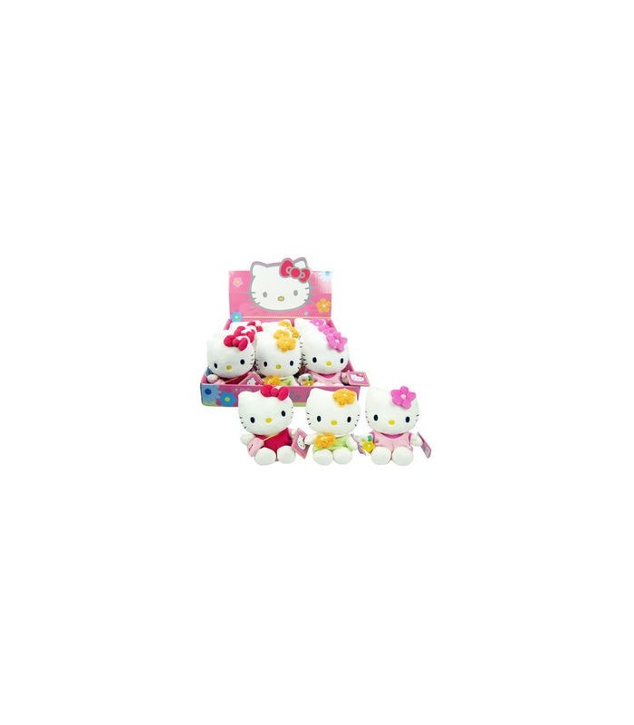 Peluche Hello Kitty, 15 cm.