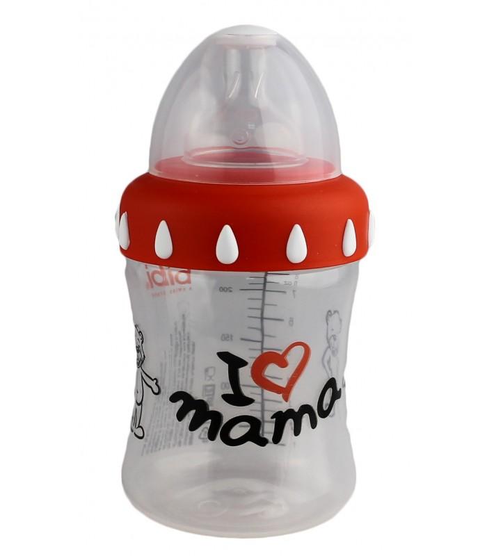 Biberón Bibi Mamá, 250 ml.