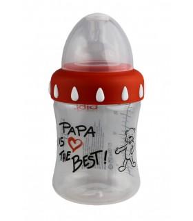 Biberón Bibi Papá, 250 ml.